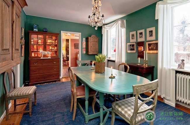 瑞典乡村风复古公寓_湛江装饰协会