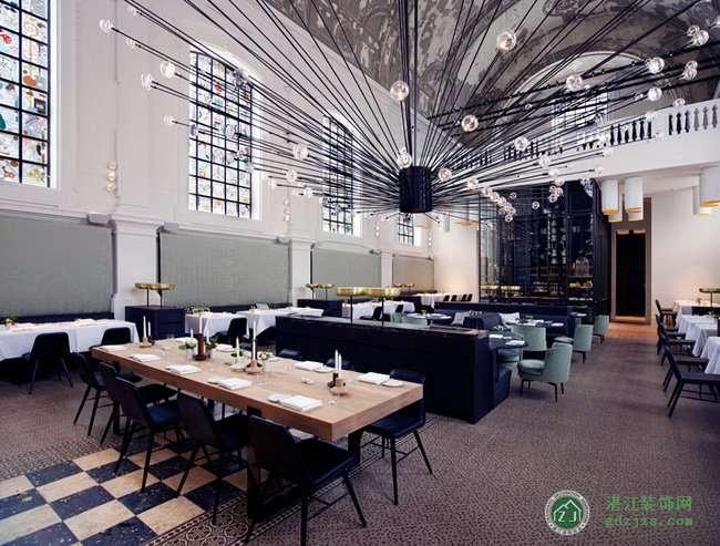 ps欧式餐厅地板贴图